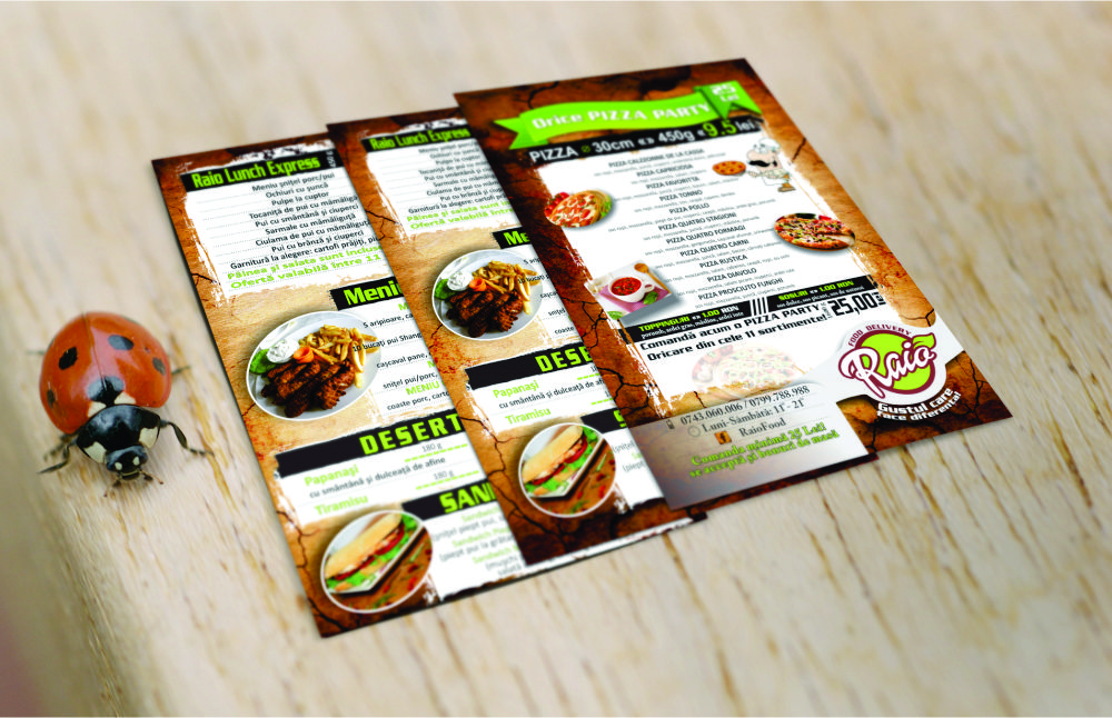 Flyer A6 catering