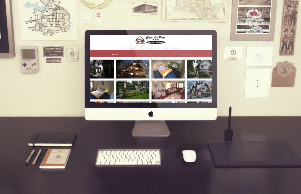 Website Casa Din Parc Covasna - Pensiune Restaurant