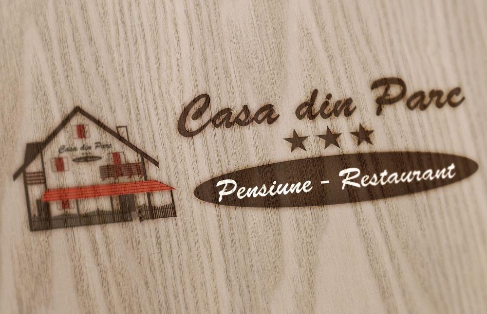 Logo Design Casa Din parc - Pensiune Covasna
