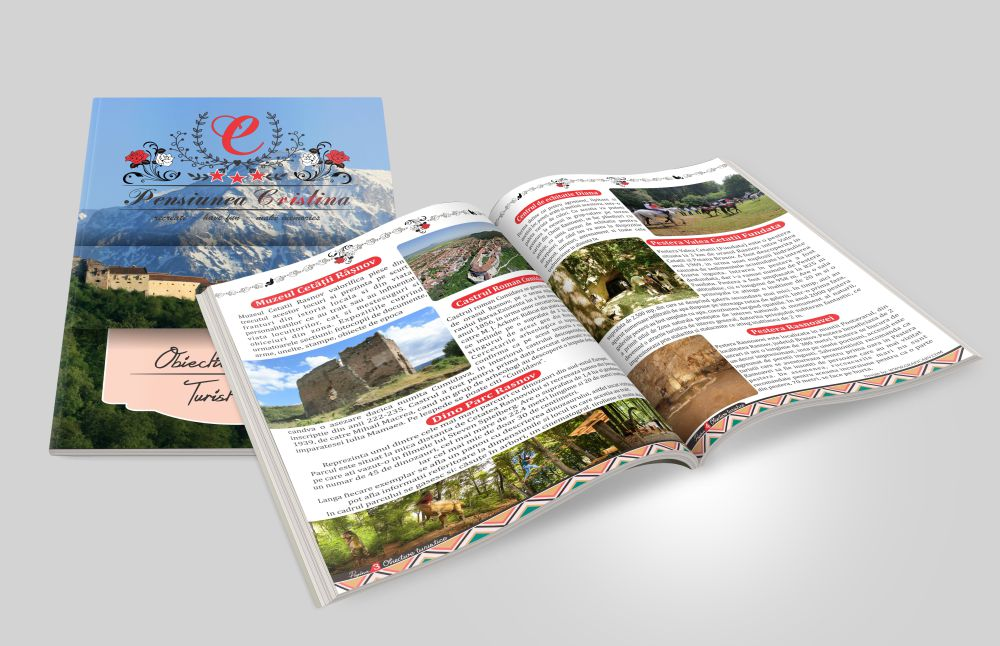 Revista de prezentare Obiective Turistice Rasnov