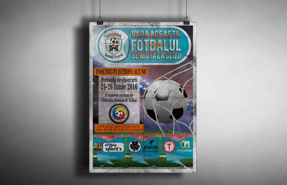 Afis Luceafarul Football Festival