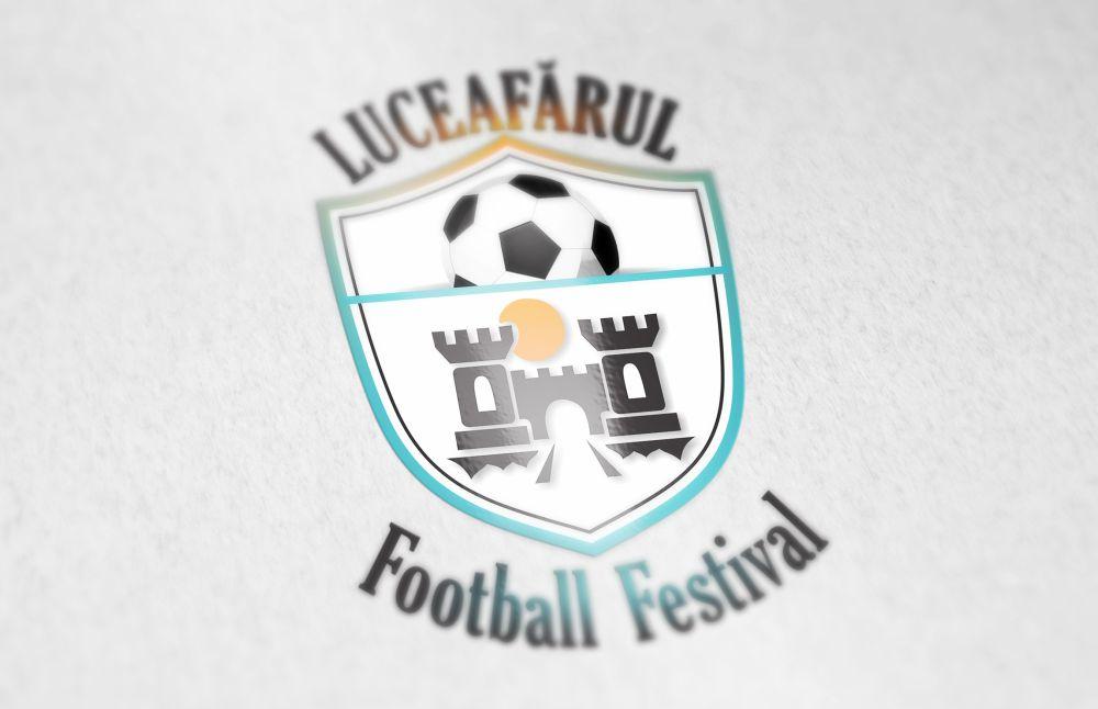 Logo Luceafarul Football Festival
